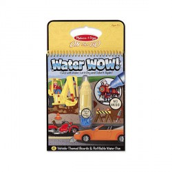 Apa Magica Carnet de colorat Vehicule Melissa and Doug