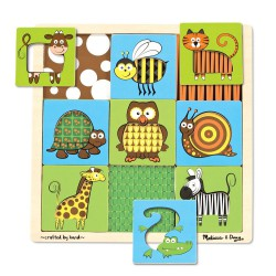 Joc de asociere animale Melissa and Doug