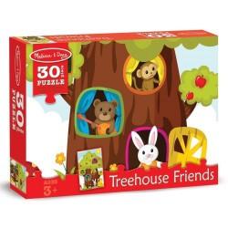 Puzzle Casuta din copac Melissa and Doug 30 piese