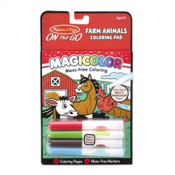 Carnetel de colorat Magicolor Animale de la ferma