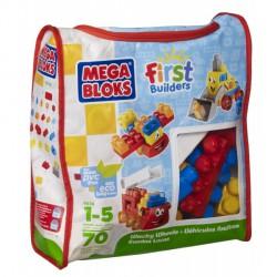 Mega Bloks - Cuburi de Constructie rotile trasnite
