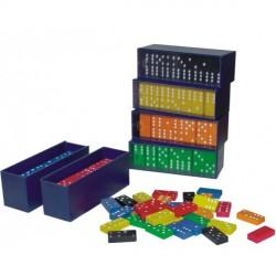 Domino cu piese Albastre Miniland